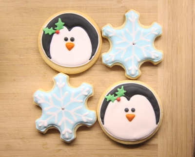 Holiday Baking Party Ft Penguins The Quiet Baker